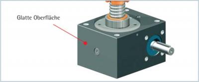 ZIMM Maschinenelemente GmbH + Co KG Lustenau Napędy podnoszenia, Siłowniki liniowe, Wrzecionowe napędy podnoszenia, Skrzynie biegów