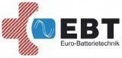 EBT EURO-Batterietechnik GmbH Schöneck akumulatorki (baterie do wielokrotnego ładowania), zailacze do oświetlenia awaryjnego, oprawy świetlne dla bezpieczeństwa, akumulatory dla zasilacza awaryjnego (UPS)