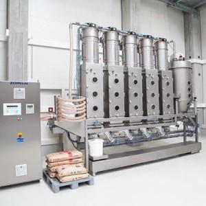Zeppelin Systems GmbH - Food Processing Plants Rödermark przenośniki śrubowe, technologia obsługi materiałów sypkich, zawory obrotowe, maszyny do przesiewania; linie do przesiewania