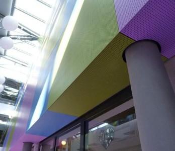 Metawell GmbH Neuburg panele sandwiczowe i lekkie, płyty sandwiczowe, aluminiowe płyty honeycomb, sufity termoizolacyjne