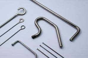 AAT Hinterdobler GmbH Bad Griesbach elementy z drutu gięte CNC, spawane elementy gięte z drutu, gięte elementy z drutu z zakończeniami poddanymi obróbce, elementy gięte z drutu