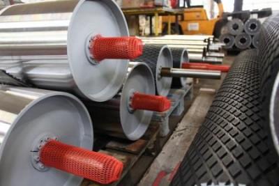 germanBelt Systems GmbH Bad Blankenburg okładziny gumowe,  guma odporna na zużycie,  faliste pasy brzegowe,  złącza do przenośników taśmowych