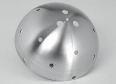 aha Albert Haag GmbH Metalldrückerei - Metallwaren Korschenbroich deformacja mechaniczna, metalowe półkule, metalowe lejki, metalowe części wyoblane