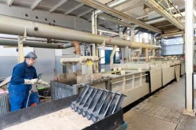 OT Oberflächentechnik GmbH & Co. KG Schwerin Schwerin piaskowanie,  próżniowa obróbka cieplna,  łopatki turbin,  cięcie strumieniem wody na zlecenie