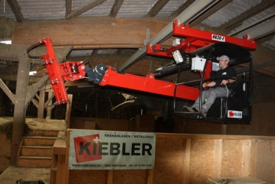 Kiebler AG Zihlschlacht maszyny do suszenia siana,  suszarki do siana,  urządzenia rolnicze,  dźwigi do siana