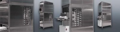 BackTech SAM GmbH Hallbergmoos linie do obróbki ciasta,  piekarniki,  szafy fermentacyjne dla piekarni,  maszyny do piekarni