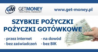 Chwilówki i szybkie pożyczki Get-Money.pl Warszawa Szybka pożyczka gotówkowa przez Internet na Get-Money.pl