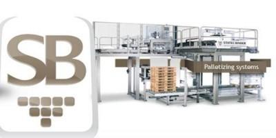 STATEC BINDER GmbH Gleisdorf systemy paletyzacji,  paletyzatory do worków,  maszyny do napełniania worków,  instalacje do napełniania worków