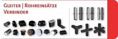 syskomp GmbH - emico Amberg gumowo-metalowe elementy tłumiące drgania,  nakrętki z tworzyw sztucznych,  śruby plastikowe,  pręty gwintowane