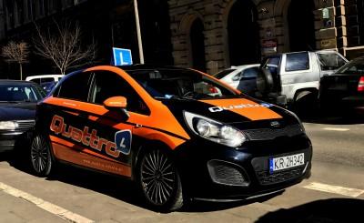 Quattro Szkoła Jazdy - Kraków Kraków Szkoła jazdy w Krakowie - Quattro Nauka Jazdy - ul. Karmelicka Kraków