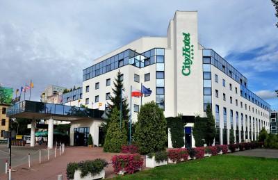 City Hotel Bydgoszcz City Hotel fronton