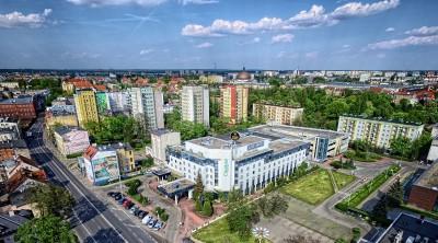 City Hotel Bydgoszcz City Hotel  widok z lotu drona