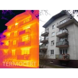 Badania termowizyjne elewacji budynków