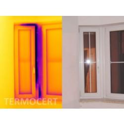 Badanie termowizyjne stolarki okiennej