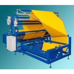 maszyna do rozkładania materiałudo rozwijania tkaniny