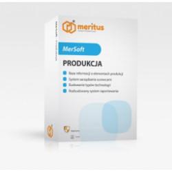 Program MerSoft ERP Produkcja