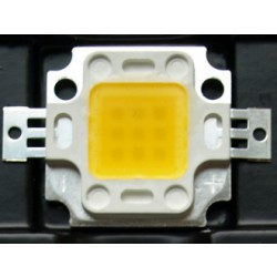 LED diode 10 WAT white; Dioda LED 10 WAT, biała