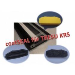 Uszczelniacze, end seals, do komór TRESU, Harris & Bruno - lakier dyspersyjny i UV