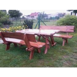 Komplety Drewnianych Mebli Ogrodowych